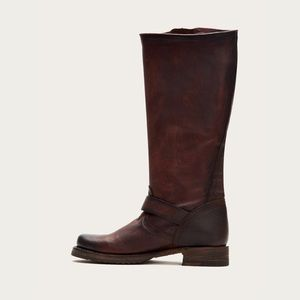 Frye Shoes - Frye Veronica Slouch Boot in Redwood